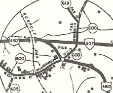 VA 307 (1958 Prince Edward County)