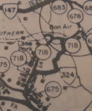 VA 324 (1946 VDOT County Atlas)