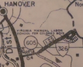 VA 326 (1946 VDOT County Atlas)