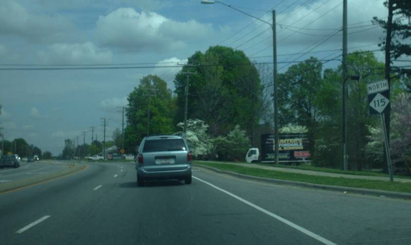 North Carolina Highway 115